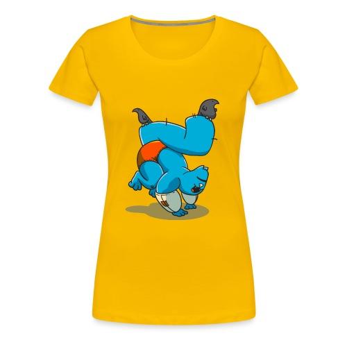 Noodles Yoga - Women's Premium T-Shirt