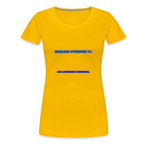 Garland Studios Tv. - Women's Premium T-Shirt