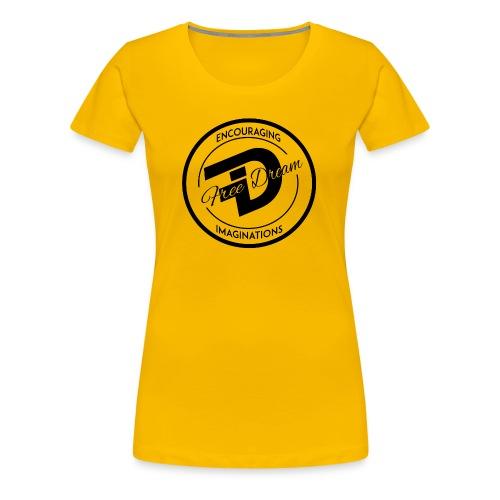 FREE DREAM BADGE - Women's Premium T-Shirt