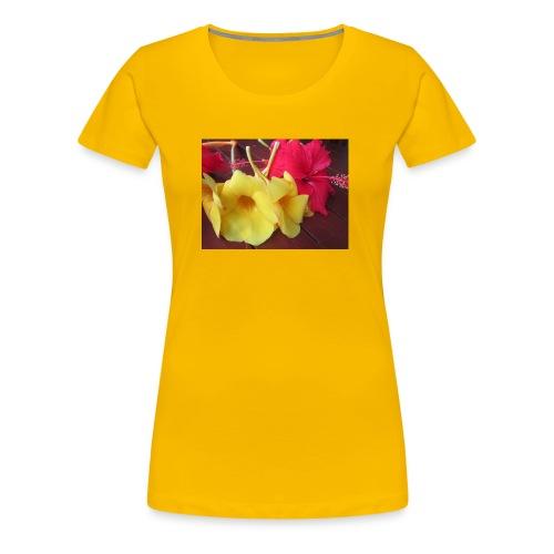 Exotic Flowers - Women's Premium T-Shirt