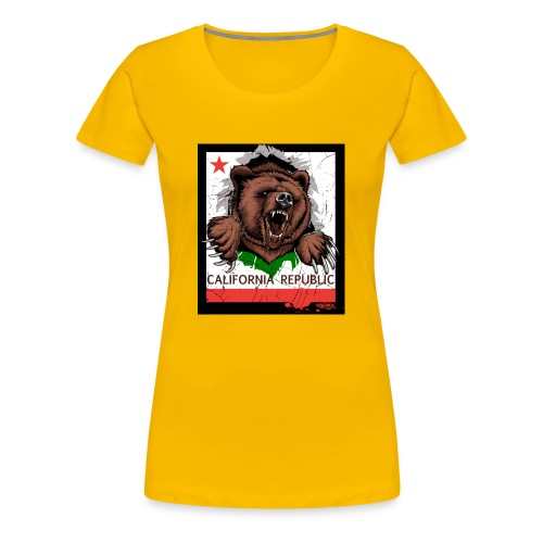 California Bear - Women's Premium T-Shirt