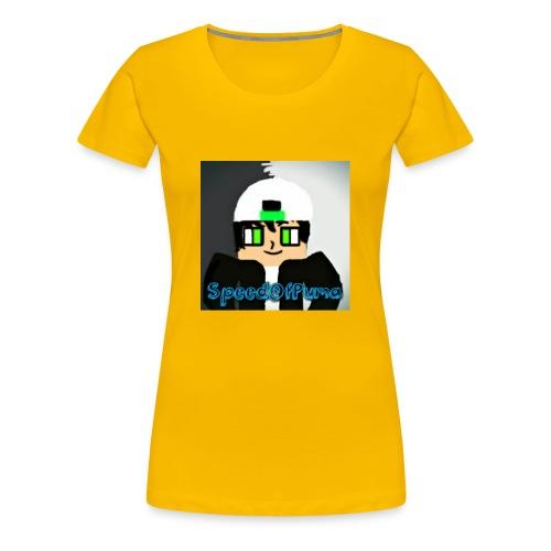 SpeedofPuma - Women's Premium T-Shirt