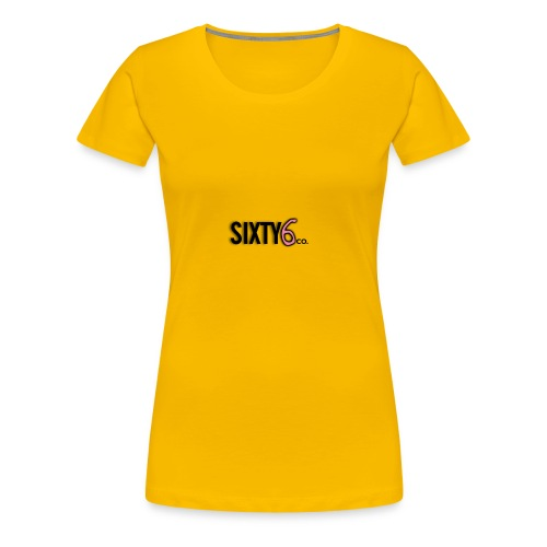 Sixty6Pocket - Women's Premium T-Shirt