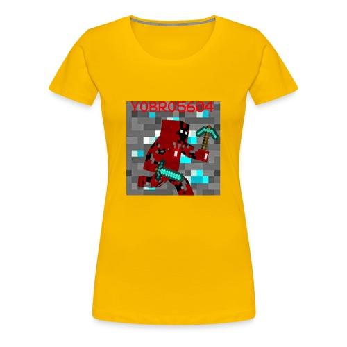 Yobro5604 icon for youtube channel - Women's Premium T-Shirt