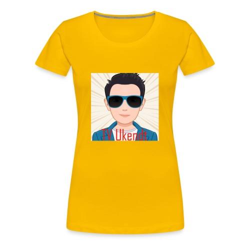 TVUKendt - KUN PROFILBILLEDE - Women's Premium T-Shirt