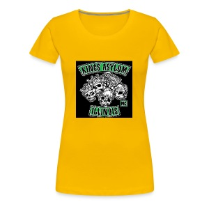 KING S ASYLUM MC color 817 S21462 - Women's Premium T-Shirt