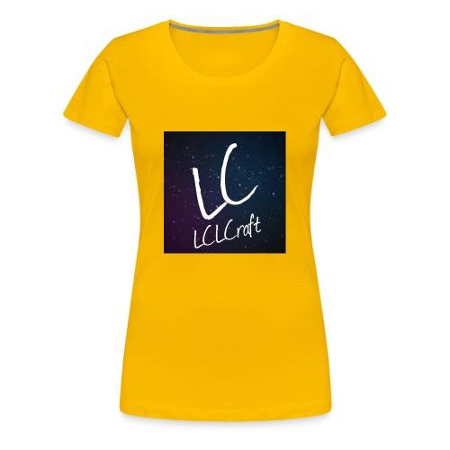 LCLCraft logo - Women's Premium T-Shirt