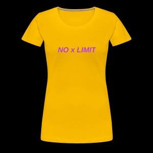 No x Limit - Women's Premium T-Shirt