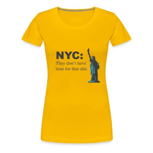 nyc!!! - Women's Premium T-Shirt
