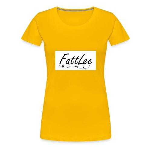 FattLee Temp - Women's Premium T-Shirt