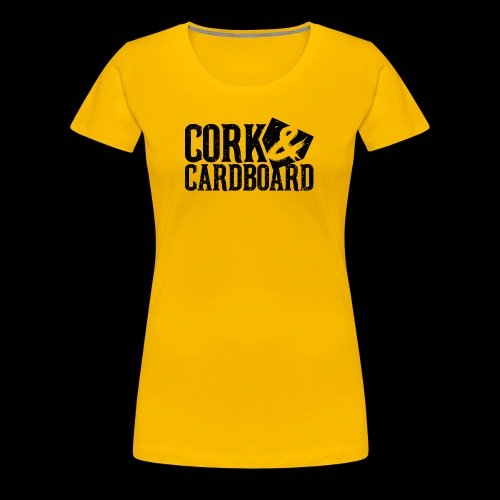 Cork & Cardboard - Steel City - Women's Premium T-Shirt