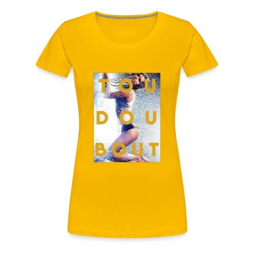 tou dou bout girl - Women's Premium T-Shirt