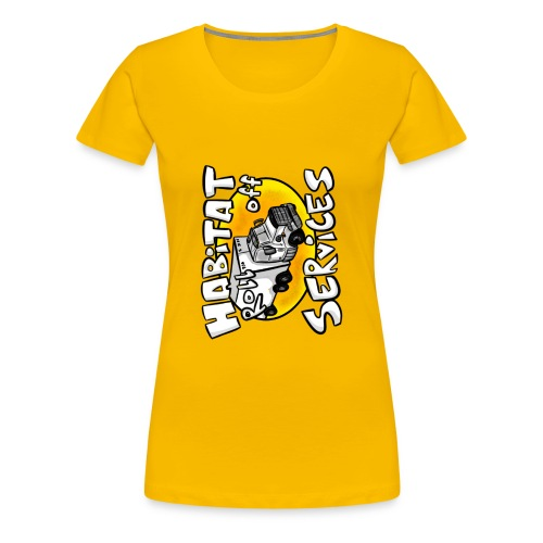 Habitat rolloff - Women's Premium T-Shirt