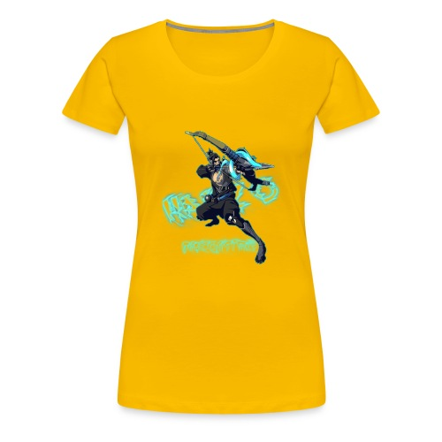 Hanzo Dragonstrike Phun - Women's Premium T-Shirt