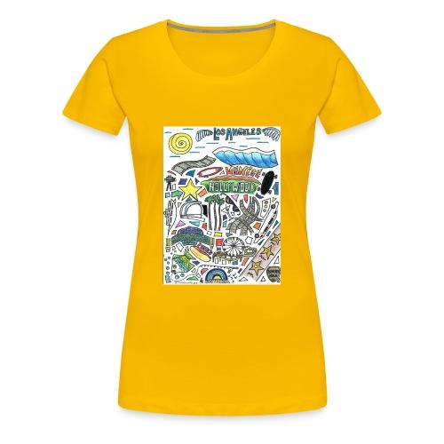 Los Angeles - Women's Premium T-Shirt
