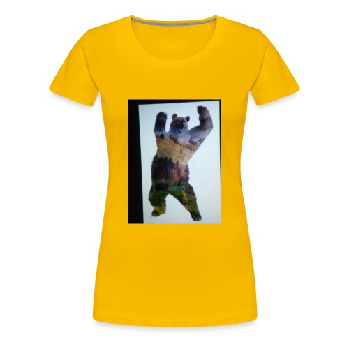 Lucky bear - Women's Premium T-Shirt