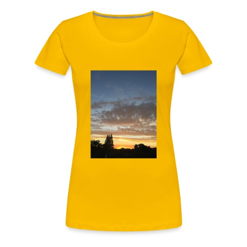 nuclear sunset - Women's Premium T-Shirt