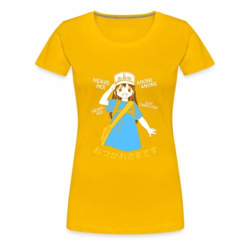 Platelet Chan - Hataraku Saibou - Women's Premium T-Shirt