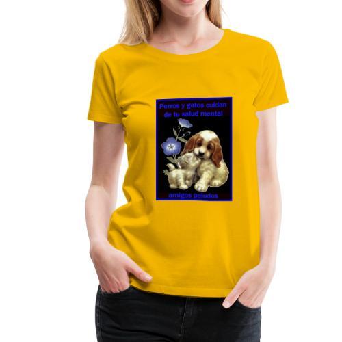 MASCOTAS Y SALUD - Women's Premium T-Shirt