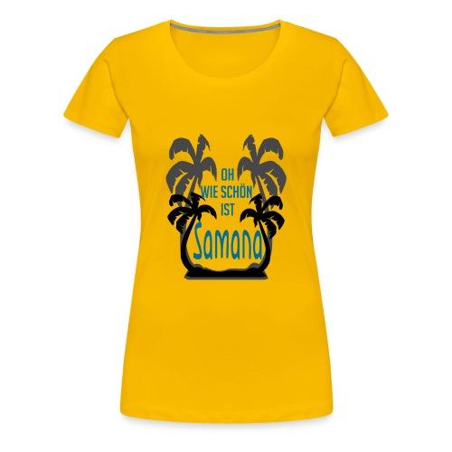 Oh how nice is Samana Carib Las Galeras - Women's Premium T-Shirt
