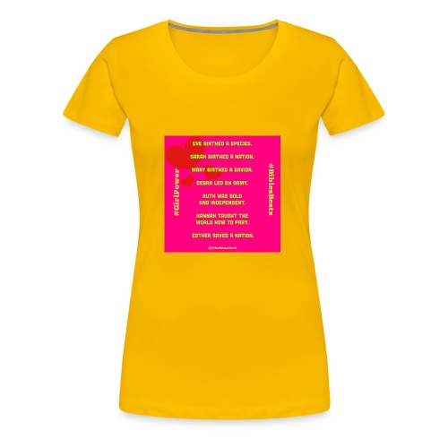 Girl Power Bible's Best - Women's Premium T-Shirt