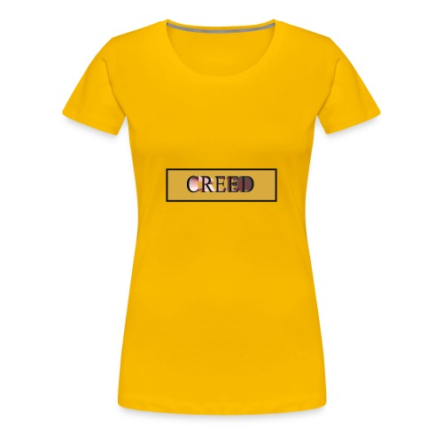Creed - Gold Collection - Women's Premium T-Shirt