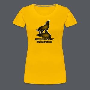 Wolf Clear - Women's Premium T-Shirt