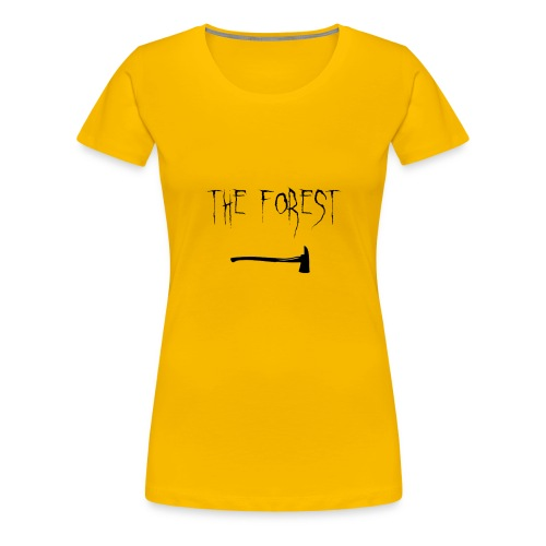the forest , game axe - Women's Premium T-Shirt