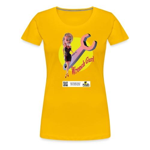 PinTz design 02 - Women's Premium T-Shirt