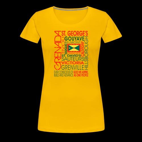 OC Grenada - Women's Premium T-Shirt