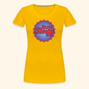 Beer Rings - Women's Premium T-Shirt