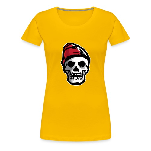 Custom Skull With Ice Cap Merch! - Women's Premium T-Shirt