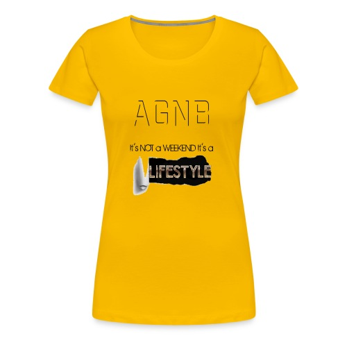 ITs not a weekend its a Lifestyle - Women's Premium T-Shirt