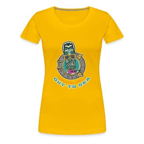 Rock and Roll Luau II - Women's Premium T-Shirt