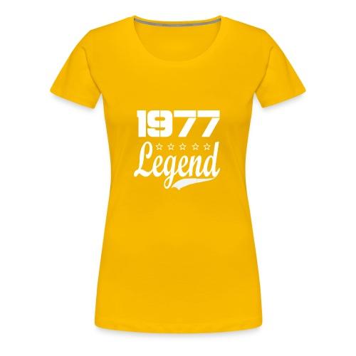 77 Legend - Women's Premium T-Shirt