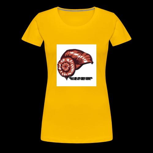 Princess Leia Hair - Women's Premium T-Shirt