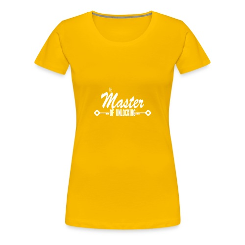 The Master of Unlocking (Alt) - Women's Premium T-Shirt