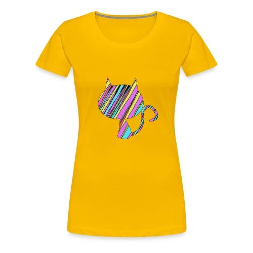 The Skis Cat - Women's Premium T-Shirt