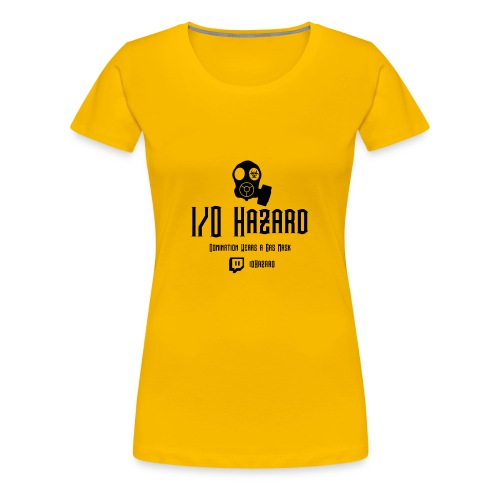I/O Hazard Official - Women's Premium T-Shirt