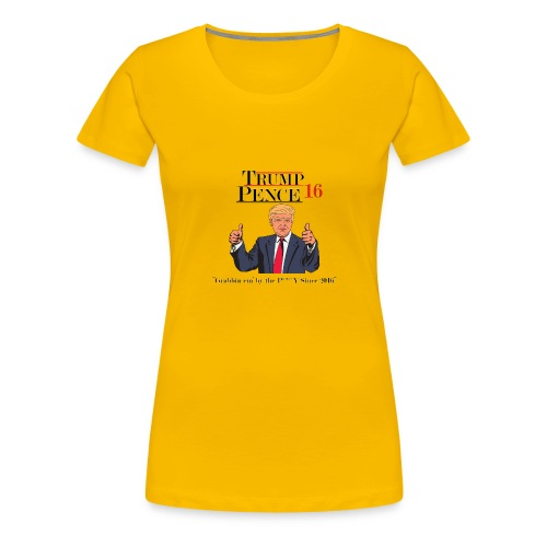 Trump Grabbin em by the pussy - Women's Premium T-Shirt