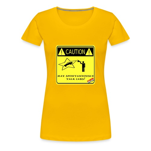 TALK_CARS - Women's Premium T-Shirt