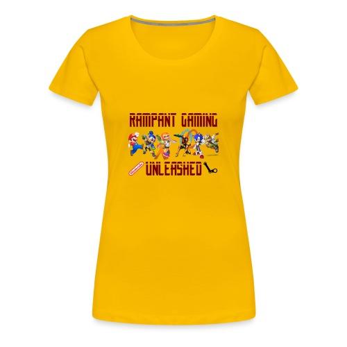 Rampant Gaming Unleashed - Women's Premium T-Shirt