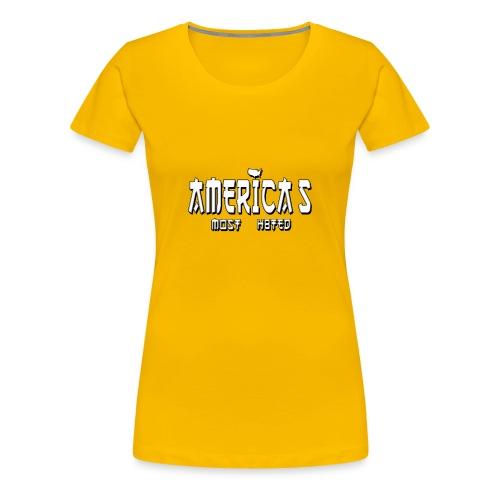 americas_most_hated - Women's Premium T-Shirt