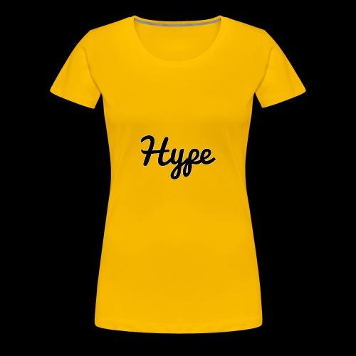 Hype Logo - Women's Premium T-Shirt