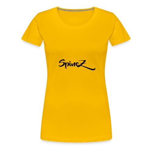 SpineZ_Black - Women's Premium T-Shirt