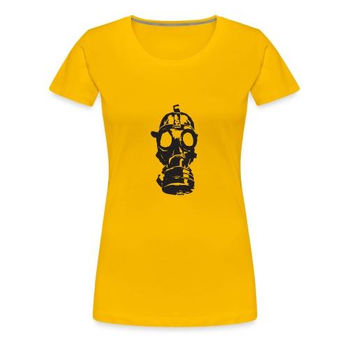 gas-mask - Women's Premium T-Shirt