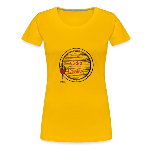 CD_black - Women's Premium T-Shirt