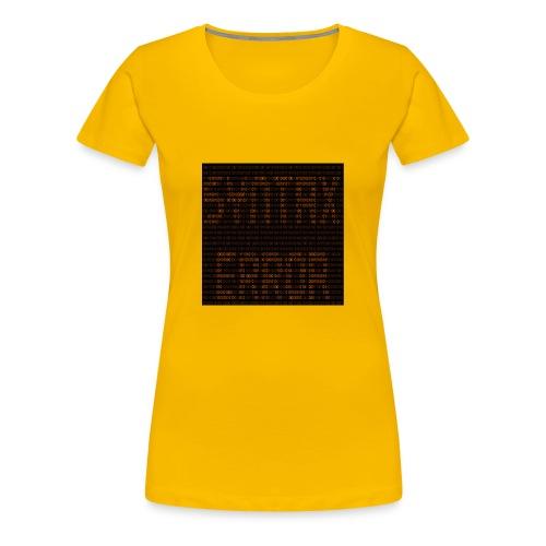 syntax error - Women's Premium T-Shirt