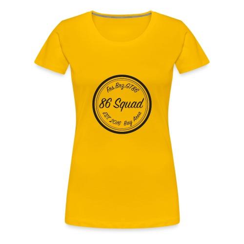 86 Squad Badge - Women's Premium T-Shirt