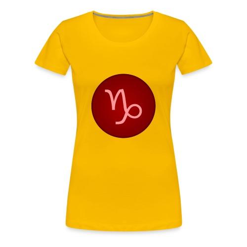 Capricorn Symbol - Women's Premium T-Shirt